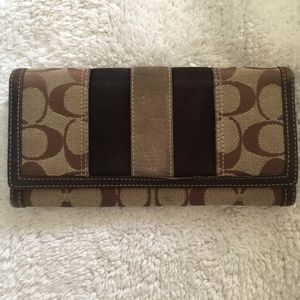 COACH Jacquard Signature Wallet